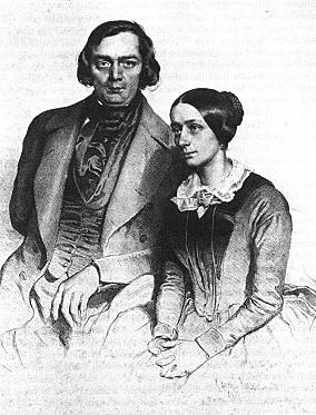 Robert and Clara Wieck Schumann